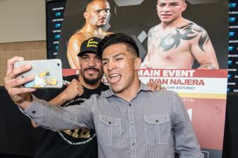 Ray Beltrán e Iván Nájera chocarán en 'Solo Boxeo Tecate'