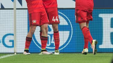 'Chicharito' anotó el gol de la frenética remontada del Leverkusen 3-2 sobre Schalke