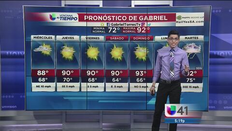 San Antonio continuará con altas temperaturas