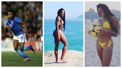 Ludmila: la 9 de Brasil que le gusta bañarse en la playa de Ipanema