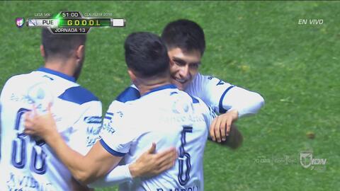 ¡Lo empató Puebla! Arreola consigue el 1-1