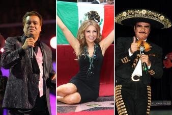 Cantantes que son el orgullo mexicano