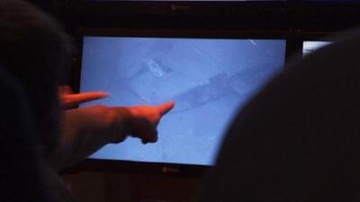 El momento en que los restos del submarino argentino desaparecido son hallados en el Atlántico