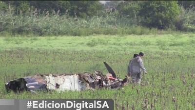 Descartan problemas en el sistema de generación de oxígeno del avión militar que cayó cerca de San Antonio