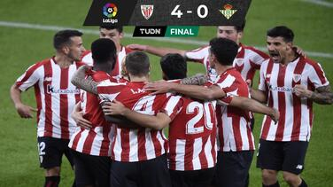 Andrés Guardado reaparece en la goleada del Athletic Bilbao al Betis