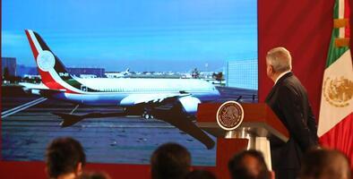 México no consigue vender su avión presidencial, costó $1.6 millones mantenerlo en EEUU