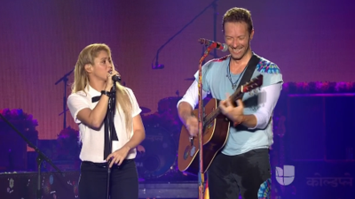 "Shakira to Chris Martin: ""Never in my wildest dreams did I think your Spanish was that damn good"""