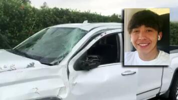 Hijo de Juan Rivera sufre un accidente de tráfico (imágenes exclusivas)