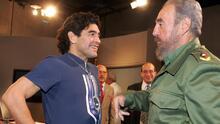 Castro, Chávez, Maduro... las polémicas relaciones de Maradona con personajes públicos