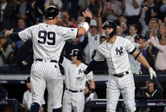 Entrada x entrada: Yankees derrota a Athletics 7-2 con pitcheo fino y batazos extra base