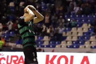 En fotos: Santos dejó escapar la victoria ante Puebla por su mala definición