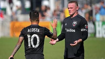 Datos y cifras alrededor del 'campañón' de Rooney y Acosta, que tienen a D.C. United a 'tiro' de Playoffs