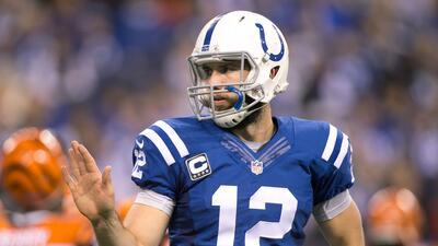 Andrew Luck tomará el lugar de Philip Rivers en el Pro Bowl