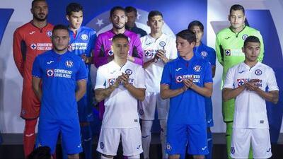 Cruz Azul presentó el uniforme que utilizará en el Clausura 2019