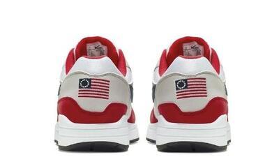 Nike retira del mercado zapatos con la bandera 'Betsy Ross' tras críticas por su connotación esclavista