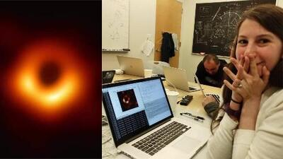 Esta joven de 29 años ayudó a obtener la primera imagen de un agujero negro