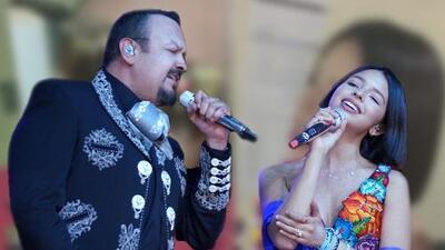 Así reaccionó Pepe Aguilar al ver que su hija Ángela no ganó ninguna estatuilla en Premios Juventud