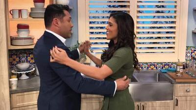 Detrás de cámaras: Oscar de la Hoya resultó tan bueno para bailar como Ana Patricia para contar chistes