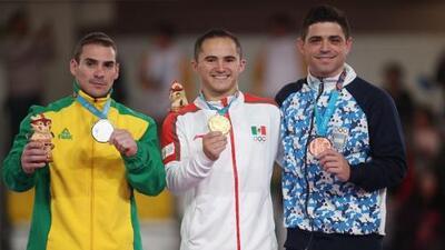 Fabián de Luna vence a campeón olímpico y gana oro en anillos
