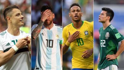 ¿Qué ha pasado con las figuras latinas del Mundial tras ser eliminadas?