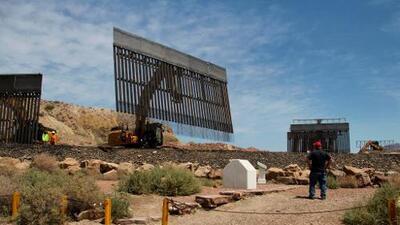 Un juez federal desestima demanda del Congreso para detener el muro fronterizo de Trump