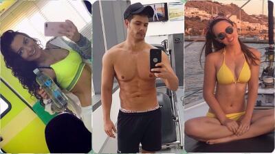 Estas estrellas de telenovela brillaron en el verano por sus esculturales figuras