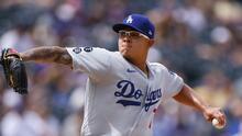 Julio Urias condujo a los Dodgers a gran triunfo en Colorado