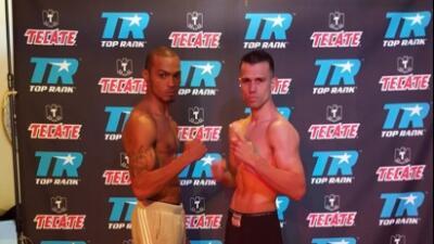 Francisco Santana y Ed Paredes listos para 'Sólo Boxeo Tecate'