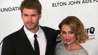 Miley Cyrus y Liam Hemsworth cancelan planes de luna de miel