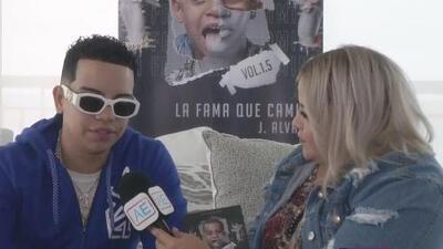 "J Álvarez presenta su nuevo álbum ""La fama que camina"""