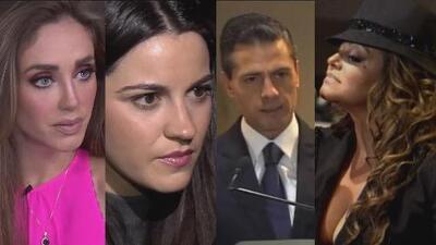Lo más visto: Anahí no invitó a Maite Perroni al bautizo de su hijo, el presidente de México mete la pata y aparece el arbolito de navidad que se habían llevado de la tumba de Jenni Rivera