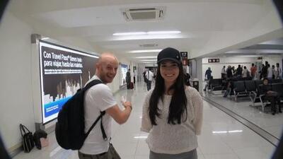 Facundo viaja con Laura G