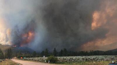 Así fue como el incendio en Redding, California, se convirtió en un verdadero tornado de fuego