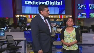 """""""Yo quiero saber si Donald Trump le puede quitar la ciudadanía a nuestros hijos"""": Lucía Quiej"""