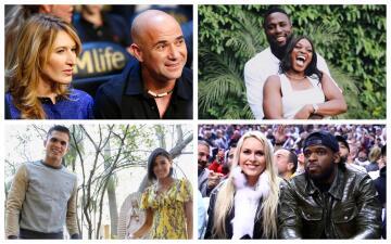 Estas son algunas de las parejas más famosas entre deportistas