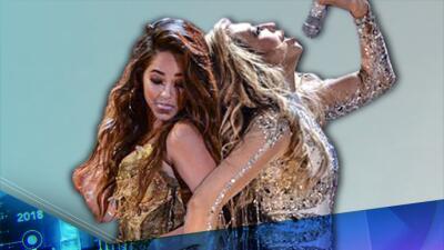 Recordamos el día que Becky G le 'rechazó' un beso a Thalía