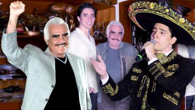 Vicente Fernández recupera el ánimo gracias a que su nieto decidió seguir sus pasos y los de 'El Potrillo'