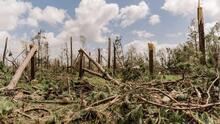"""""""Lo que importa es sobrevivir"""": afectada del huracán Laura pide solidaridad a comunidad de Houston"""