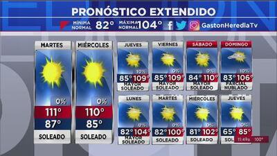 Calor extremo para esta semana en Arizona