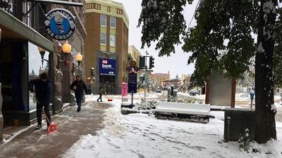 Hasta dos pies de nieve y temperaturas bajísimas: una tormenta otoñal congelará el centro-norte de EEUU