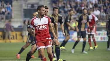 Diego Fagúndez marca solitario gol para victoria 1-0 de NE Revolution sobre Philadelphia Union y siguen en pelea por los Playoffs