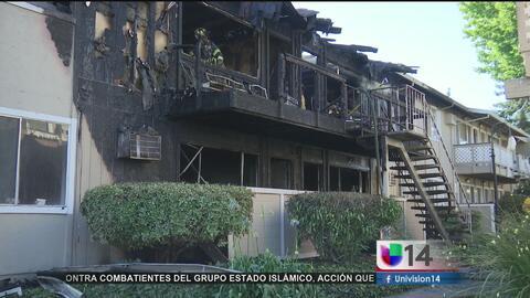 Complejo de apartamentos en San José se incendia en un día de temperatura record