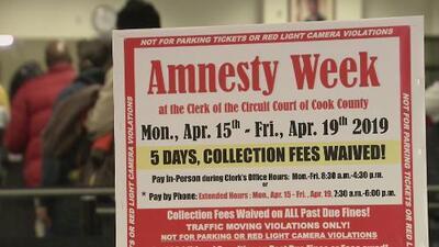 Esta es la Semana de Amnistía en Chicago, donde los conductores pueden pagar sus multas de tránsito sin penalidades