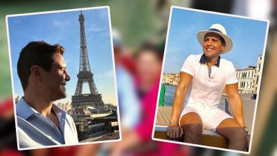 Alejandro Chabán está de viaje por Europa con su primer amor (fotos)