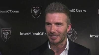 David Beckham celebró la victoria en el referendo y agradeció el apoyo al Inter Miami