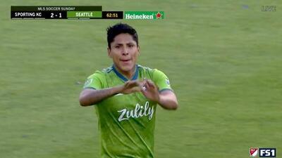 Harry Shipp da una fantástica asistencia y Raúl Ruidíaz acorta el marcador, Sporting KC 2-1 Seattle