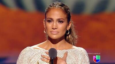 Jennifer López fue la gran estrella de Premios Juventud