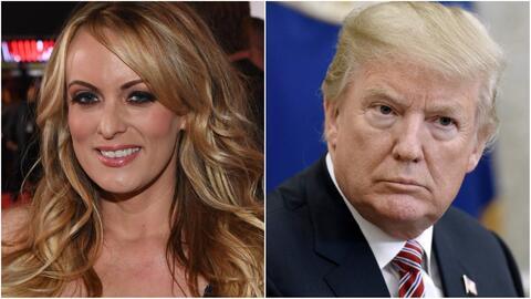 Actriz porno Stormy Daniels demanda a Trump y alega cláusula de confidencialidad no válida
