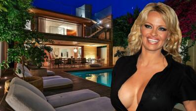 En fotos, la casa que Pamela Anderson renta por 40,000 dólares al mes (con una condición)