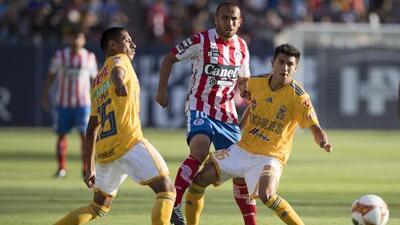 Cómo ver Atlético San Luis vs. Tigres en vivo, por la Liga MX 17 de Agosto 2019